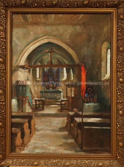 Stanislav Feikl - Interiér kostelíka