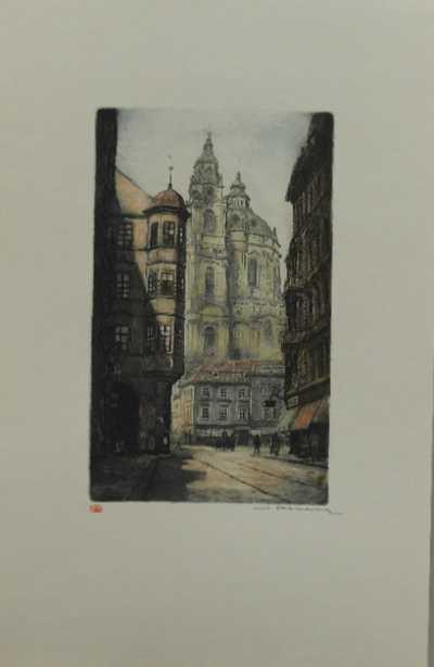 Vladislav Röhling - Mostecká ulice