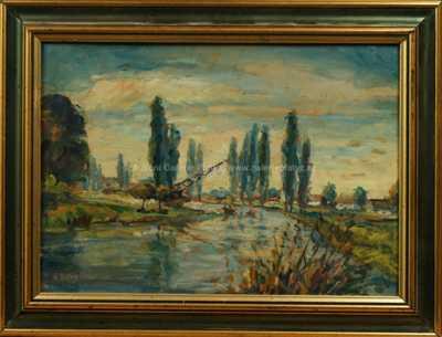 Václav Březina - Na řece