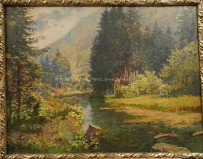 Jan Simon - Řeka v údolí