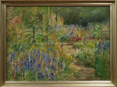 Autor neurčen - Rozkvetlá zahrada