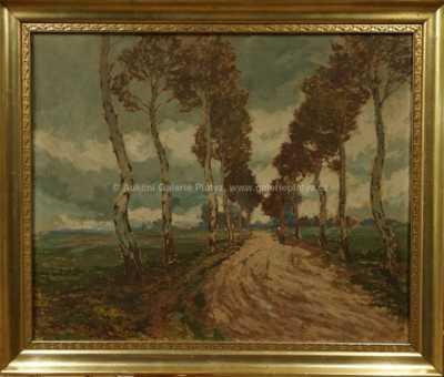 Gustav Macoun - Březová alej