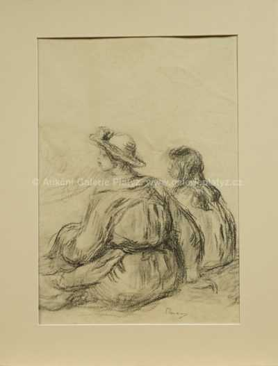 Auguste Renoir - Sedící děvčata