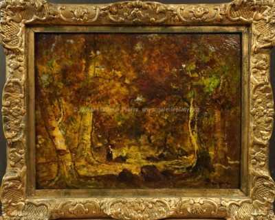 Jules Dupré - V lese