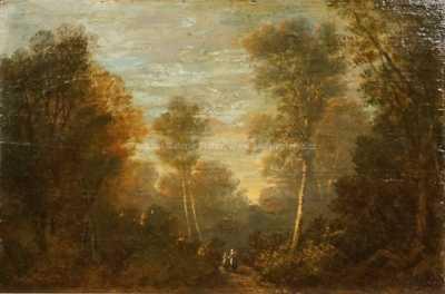 Édouard Marandon - Na lesní cestě