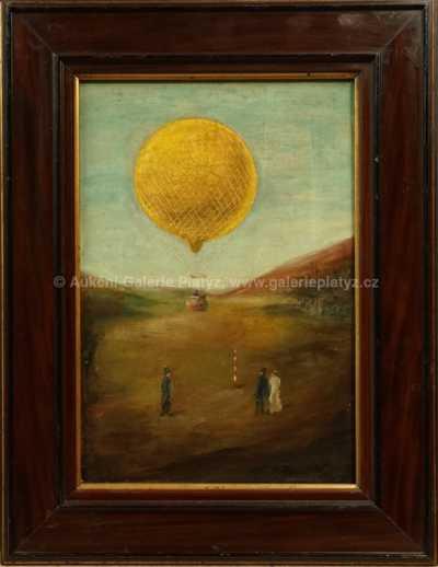 Neznačeno - Let balónem