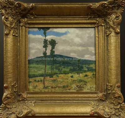 Josef Jambor - Stromy na stráni