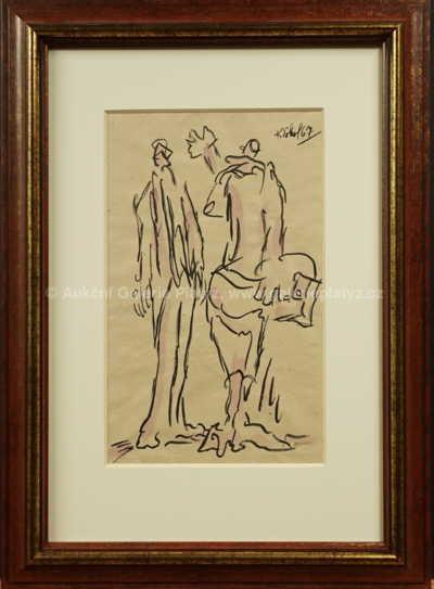 Koloman Sokol - Dvě figury z Kaburaby