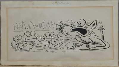 Ondřej  Sekora - O žabácích