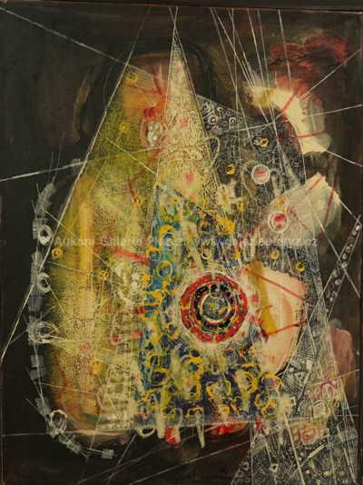 Autor neurčen - Abstraktní kompozice