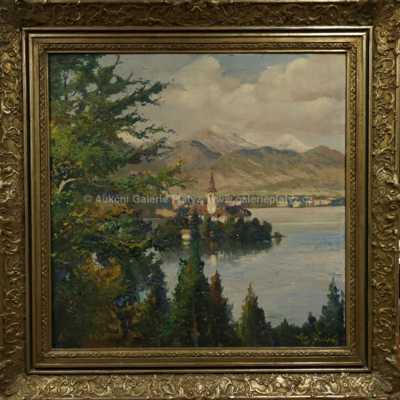Josef  Svoboda - Jezero Bled