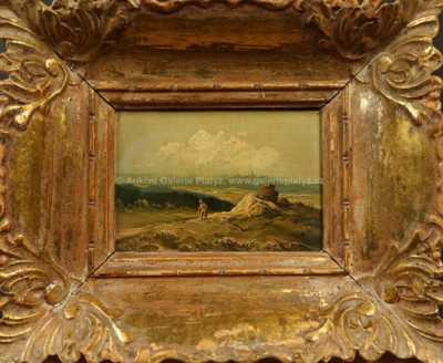 Josef Krejsa - Motiv ze Šumavy
