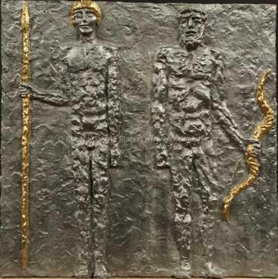 Olbram Zoubek - Odysseus a Télemachos