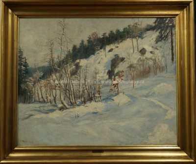 Zima v Podskalí