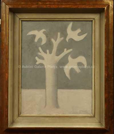 Vladimír Komárek - Strom v zimě