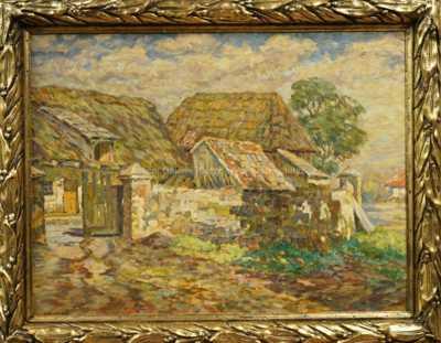 Josef Ullmann - Vesnické stavení