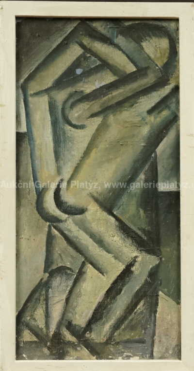 Neznačeno - Kubistická figura