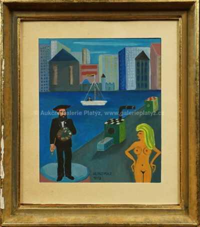Josef Hlinomaz - V přístavu