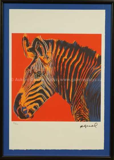 Andy Warhol - Zebra