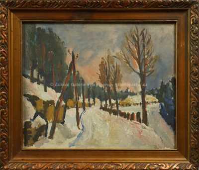 Bořivoj Žufan - Zimní krajina