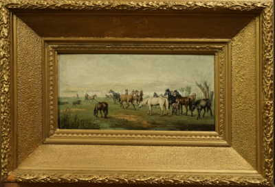 Josef Mathauser - Koně na pastvinách