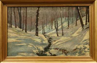 Václav Březina - Potok v zimě
