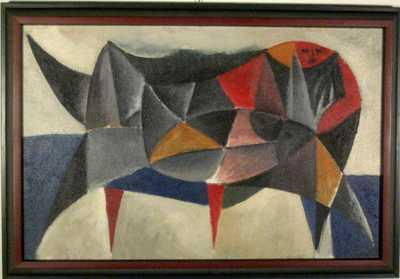Karel Vaca - Ležící I. 1963