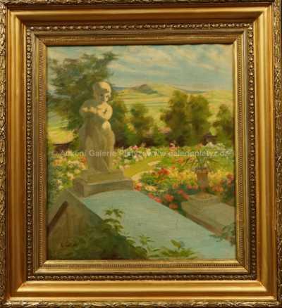 Karel Špillar - Rozkvetlá zahrada