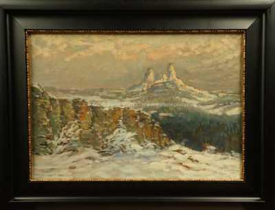 Josef Ullmann - Trosky v zimě