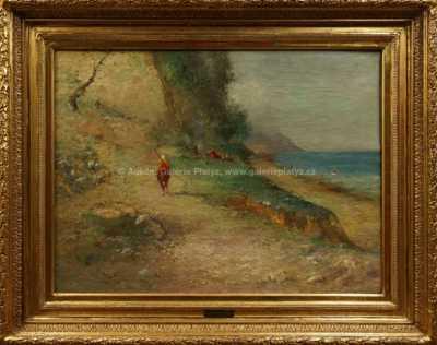 Autor neurčen - Na mořském břehu