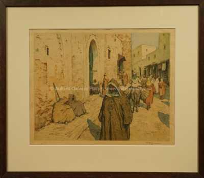 František Tavík Šimon - Arabské stánky