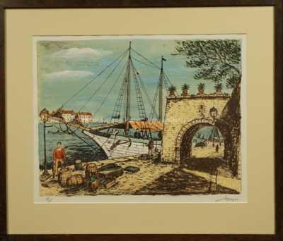 Alois Kohout - Rybářská loď