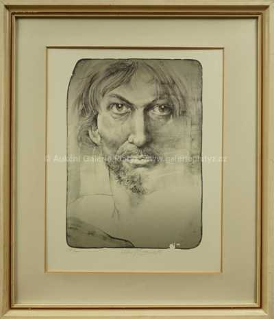 Oldřich Kulhánek - Portrét muže