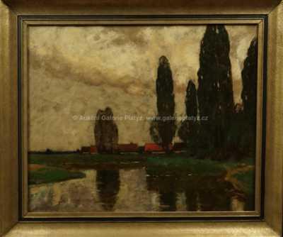 Zdena Braunerová - U rybníka