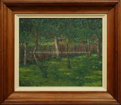 Arnold Koblitz - V rozkvetlé zahradě
