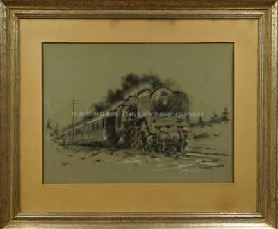 Jaroslav Ronek - Vlak v jízdě