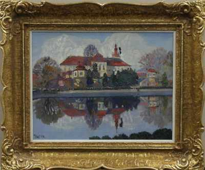 Jindřich Vlček - Zámek u jezera