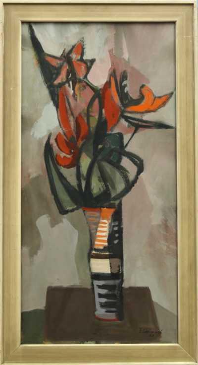Emil Weirauch - Květiny ve váze