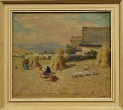 Karel Laube - Motiv z venkova