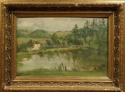 Otakar Lebeda - U rybníka