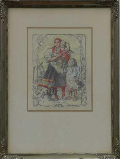 Augustin Němejc - Matka s dětmi
