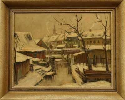 Karel Holan - Periferie v zimě