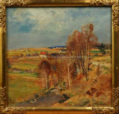 Karel Jan Sigmund - Potok v krajině