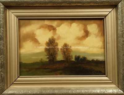 Viktor  Rolín - Stromy v krajině