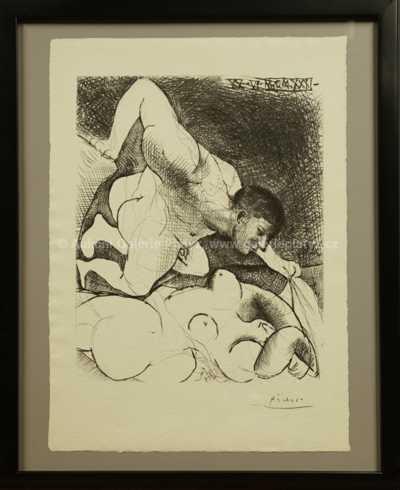 Pablo Picasso - Homme dévoilant une demme