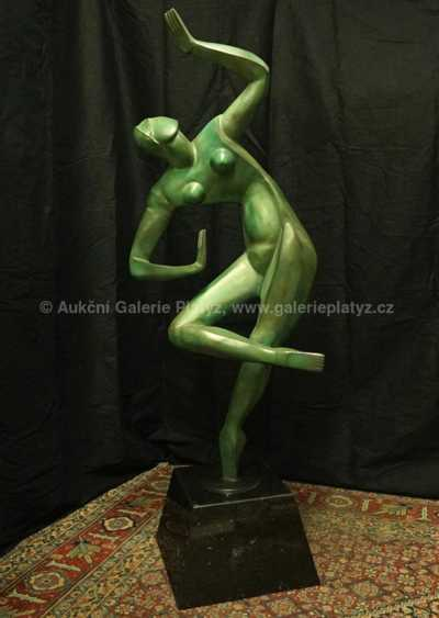 Alexander Archipenko - Blue Dancer