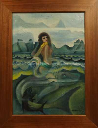 Josef Hlinomaz - Dívka na moři