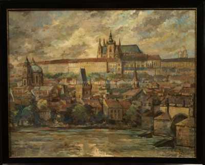 Emanuel Knížek - Pražský hrad