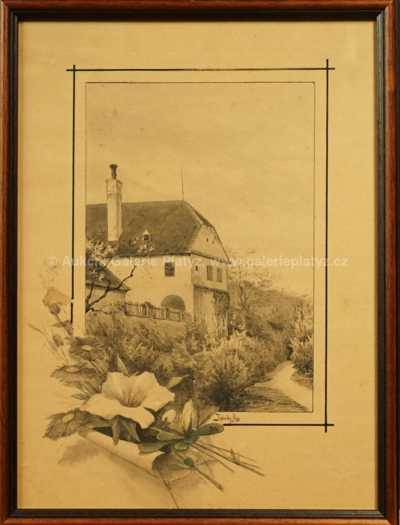 Alois Kalvoda - Selské stavení