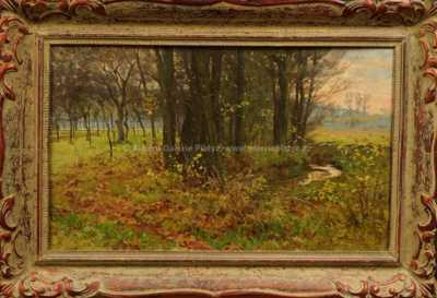 Vilém Trsek - Potok u lesa